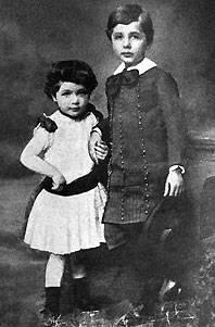 Einstein as a boy