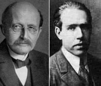 Planck and Bohr