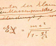 Equation in manuscript