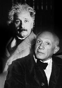 Einstein and Picasso