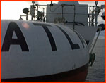 Closeup of Atlas buoy