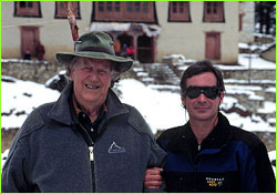 David Breashears and Sir Edmund Hillary