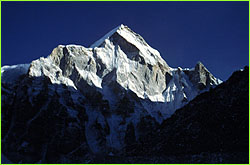 Photo of Everest in distance