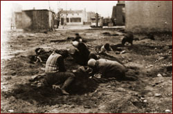 Children in Lodz ghetto