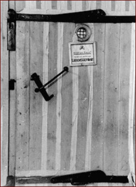 Auschwitz chamber door & NOVA Online | Holocaust on Trial | Auschwitz chamber door