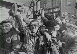 Auschwitz prisoners liberated