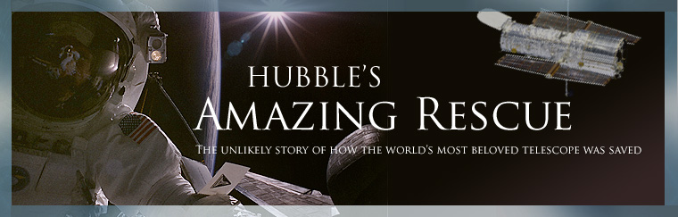 Hubble's Amazing Rescue: The unlikely story of how the world's most beloved telescope was saved. Airs on PBS October 13, 2009