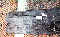 Scribe marks