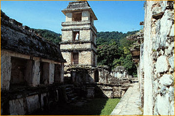 Palenque Palace after