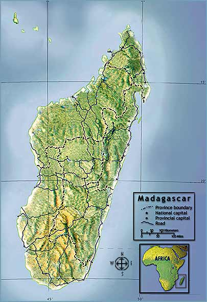 NOVA Online The Wilds of Madagascar Madagascar Map Activity