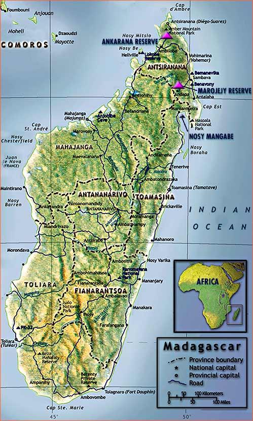 Tromelin Island Map