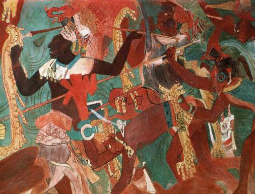 Nova cracking the maya code map of the maya world for Siege mural rabattable