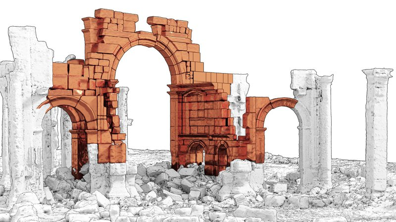 2-Palmyra_Arch_BlastRestitution1