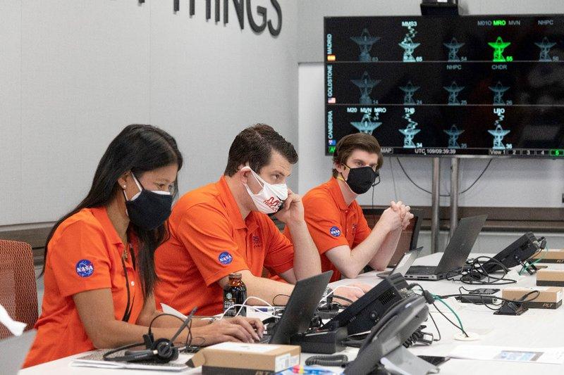 NASA JPL's Ingenuity Mars helicopter team
