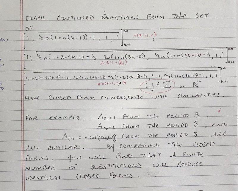 Math calculations written on paper