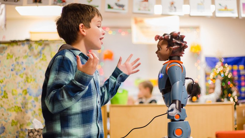 What Makes Kids With Autism Less Social >> Are We Ready For Robots With Emotional Intelligence Nova Pbs