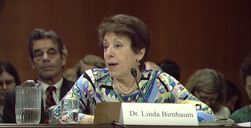 Linda Birnbaum testified before congress