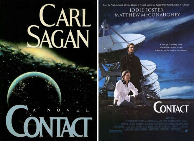 Contact the novel and movie