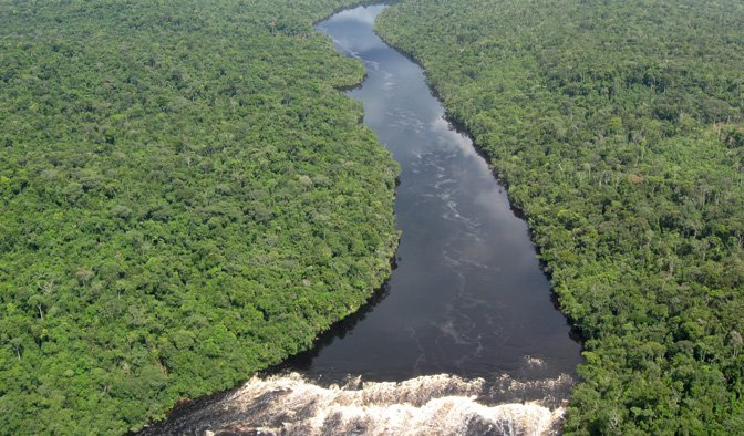 Amazonian river