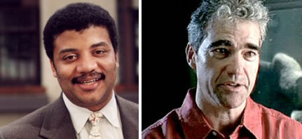 Neil deGrasse Tyson and Peter Ward