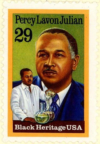 Percy Julian stamp