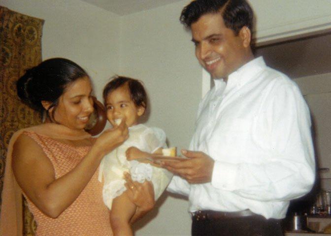 Bhatia's parents