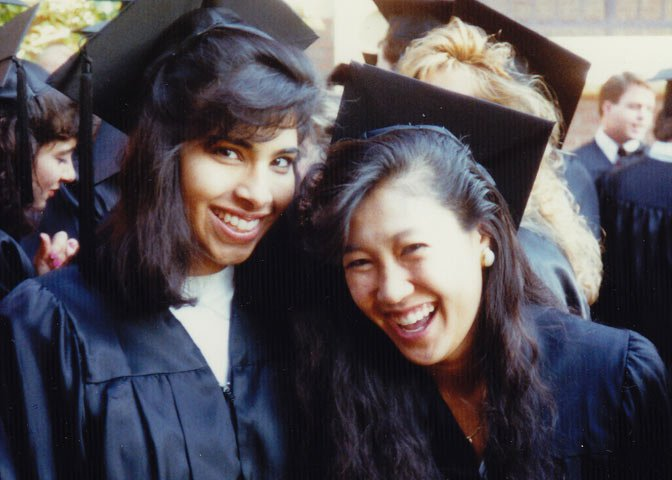 Bhatia at graduation