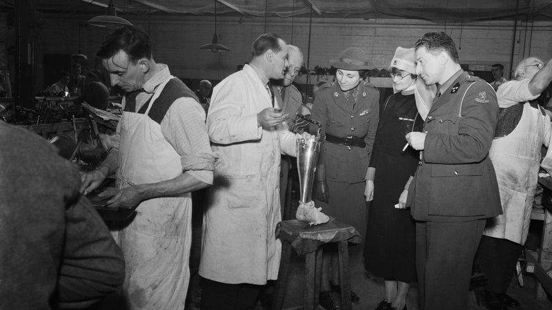 british artificial limb factory 1941