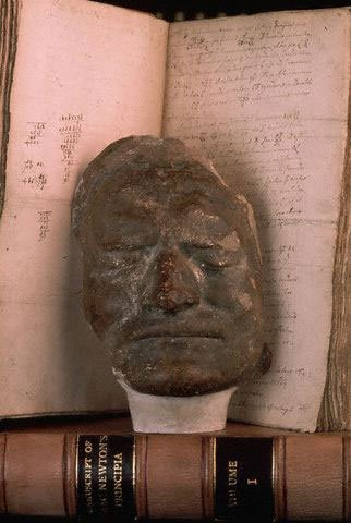 Newton's death mask