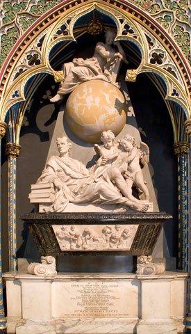 Newton's tomb
