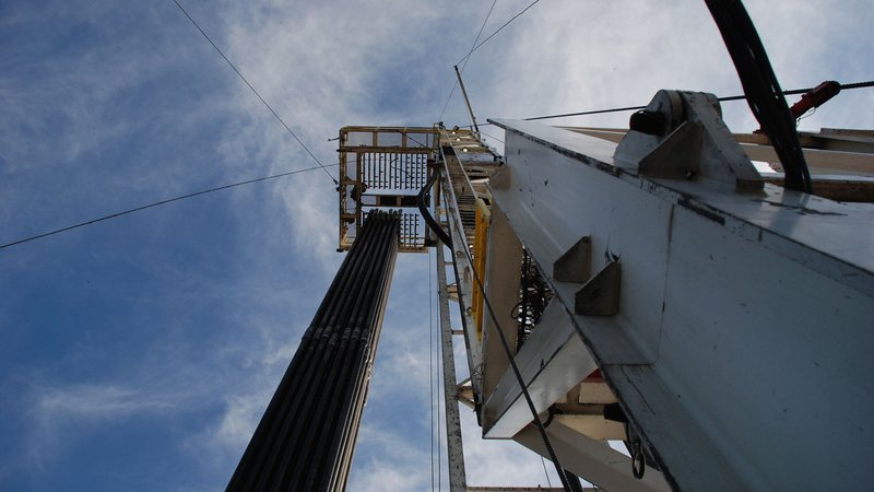 Fayetteville Shale Drill Rig