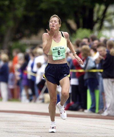 Uta Pippig running
