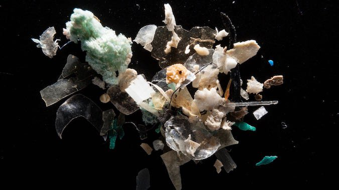 Freshwater's Macro Microplastic Problem