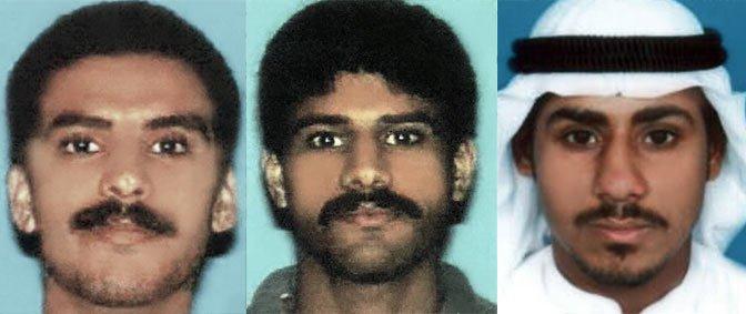 three of the hijackers, Khalid al-Mihdhar, Nawaf al-Hazmi, and Salem al-Hazmi