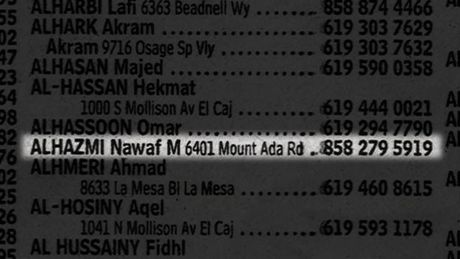 phone book listing