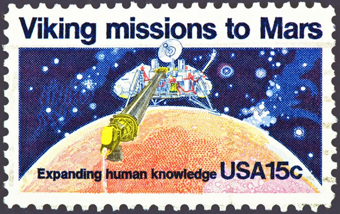 Viking Mars stamp