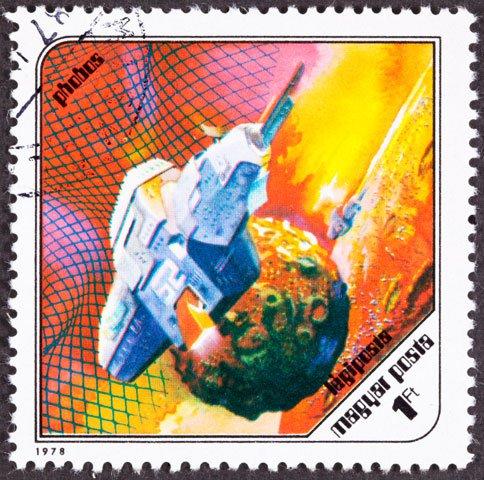 Phobos stamp