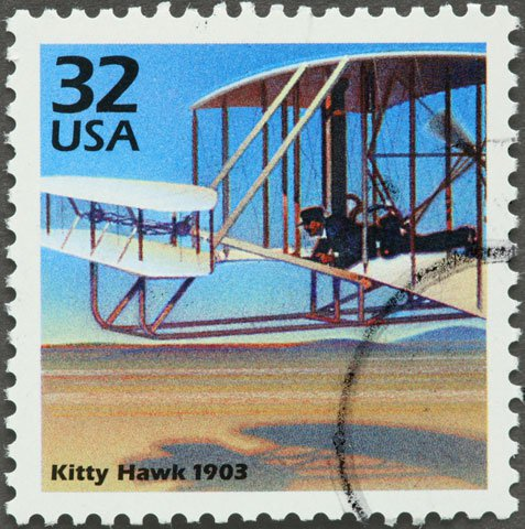 Kitty Hawk stamp