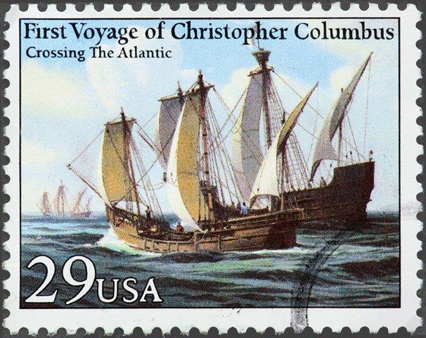 Columbus stamp