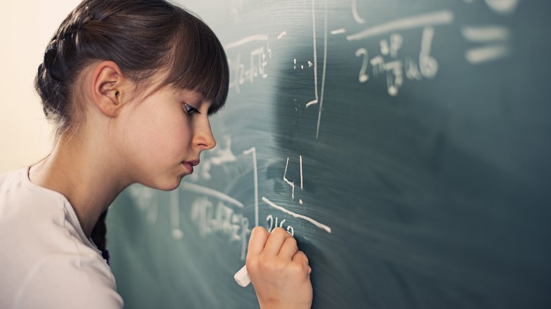Girls' superb verbal skills may contribute to the gender gap in math