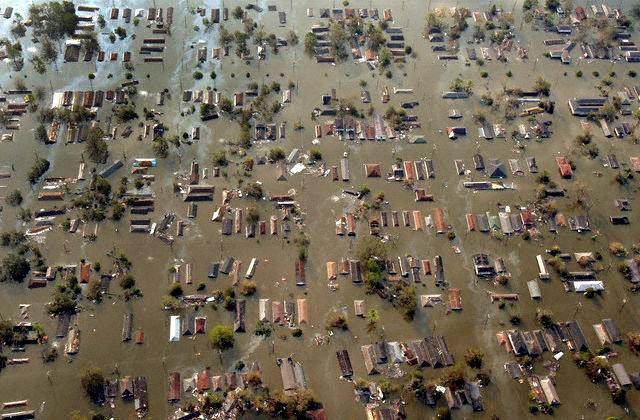 New Orleans underwater