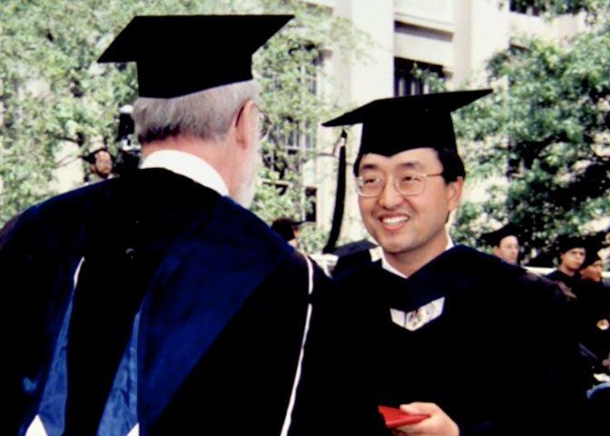 Lee got a Ph.D.