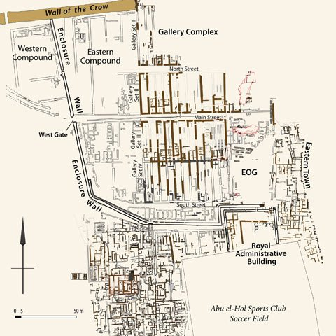 Map of the Lost City