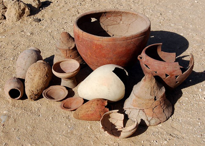 common Lost City pottery