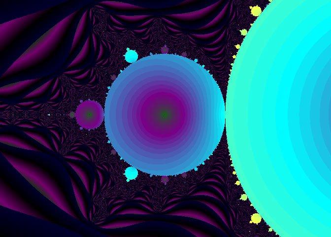 aqua fractal