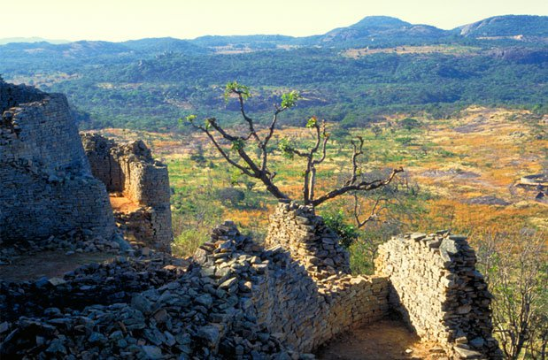 view from Great Zimbabwe