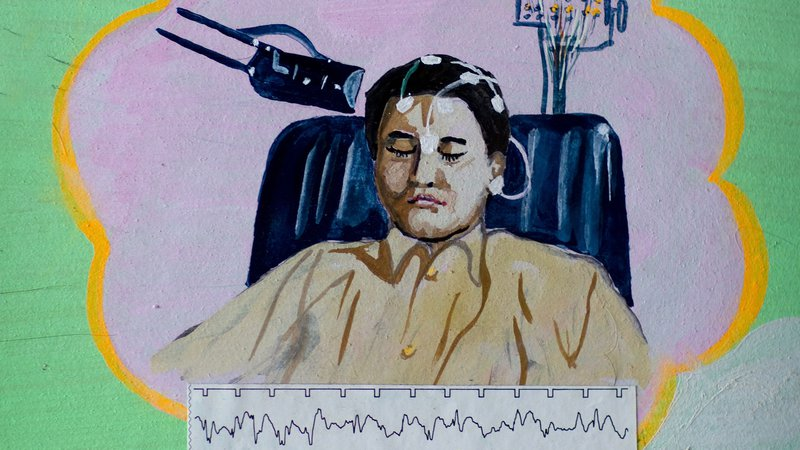 Poster In Hospital In North Korea -