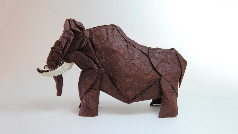 origami-woolly-mammoth
