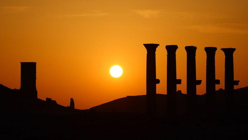 palmyra-sunset