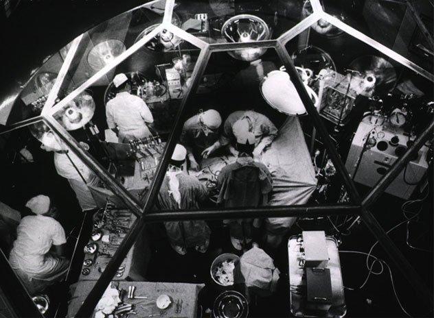 open-heart surgery 1955